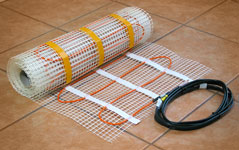 Electric Floor Heating Mat by Infrafloor