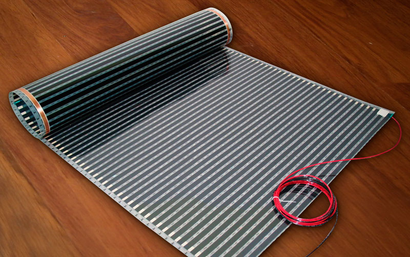 InfraFloor Radiant Floor Heating Systems - Heated bathroom floor systems
