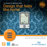 Floor heating thermostat brochure